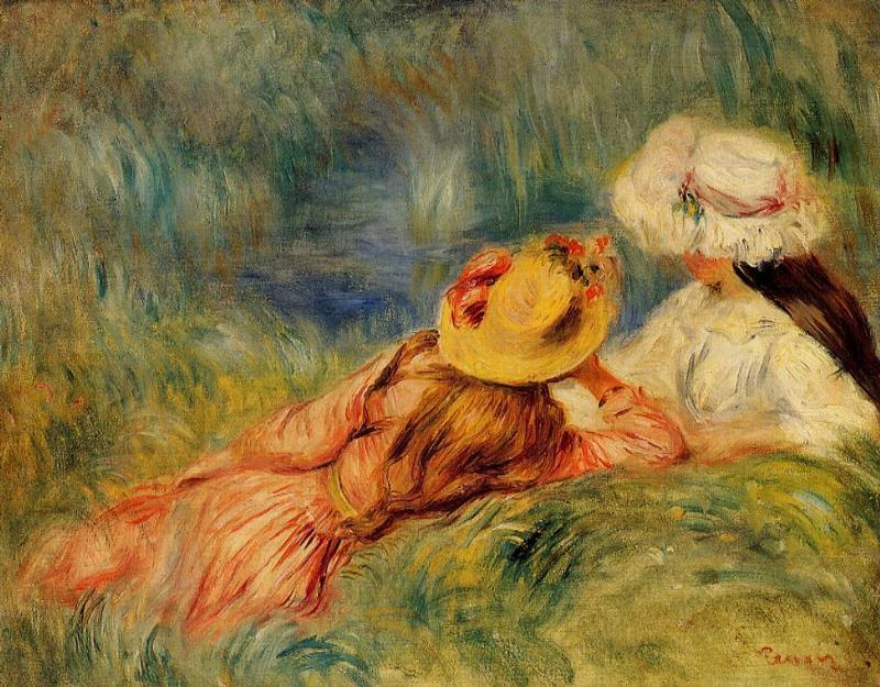 the life and early works of pierre auguste renoir French artist pierre-auguste renoir is considered one during his early career around 1867, renoir met hundred works of art, renoir served as an.