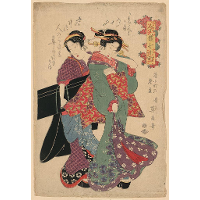 An allegory of Komachi visiting
