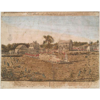 Plate I. The battle of Lexington, April 19th 1775