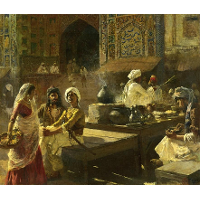 An Open Air Kitchen, Lahore, India