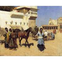 Horse Market, Persian Stables, Bombay