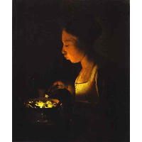 Girl with a Brazier