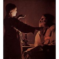 Appearance of Angel to St. Joseph, also called The Song of St. Joseph