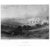 Bethlehem engraving by William Miller after Leitch