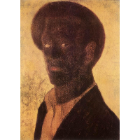 Black Self-Portrait