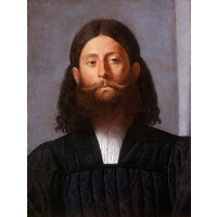 Portrait of a bearded man (Giorgione Barbarelli)