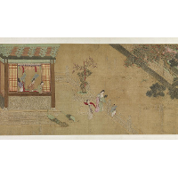 Spring Morning in the Han Palace (View B)