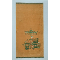 Scroll illustrating The Heart Sutra