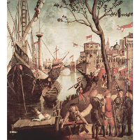 Arrival of St.Ursula during the Siege of Cologne