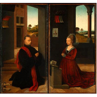 Portrait of a Male and Female Donor