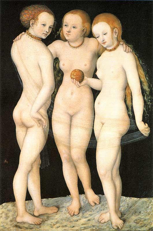 Три грации эротика