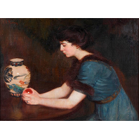 At the Window (also known as Portrait of Julia Sullivan Lynch)