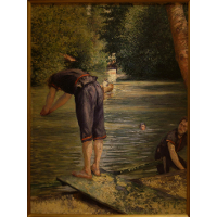 Bathers on the Banks of the Yerres
