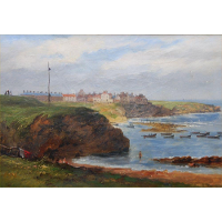 Cullercoats from the South by John Wilson Carmichael