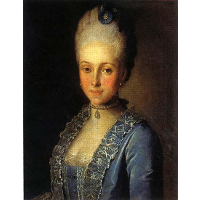 Portrait of Alexandra Perfilyeva, née Countess Tolstaya