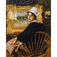 A Study (The Artist's Wife)