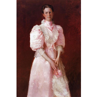 A Study in Pink (Portrait of Mrs. Robert P. McDougal)