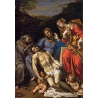 Pietà with St Francis and Mary Magdalene
