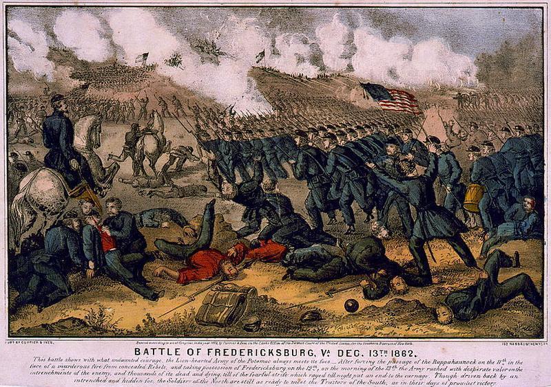 battle of frediericksburg analysis