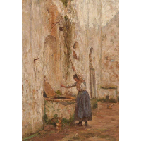 At the Well, Anacapri