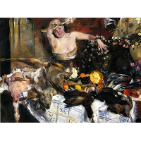 Large Still Life with Figure