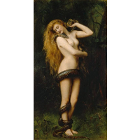 Lilith with a Snake