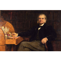 Portrait of Professor Huxley