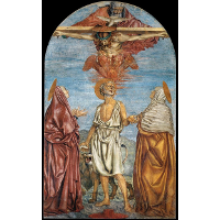 Holy Trinity with St. Jerome