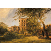 View of Sir David Wilkie's House in Vicarage Place, Kensington