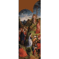 Calvary Triptych (Right panel)