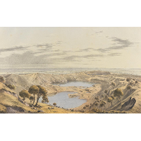 Crater of Mount Gambier S.A.
