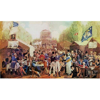 4th of July 1819 in Philadelphia