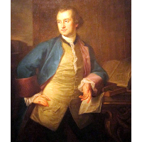 A portrait of John Morgan