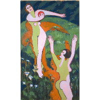 Women Playing with a Ball
