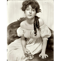 Miss N (Portrait of Evelyn Nesbit)
