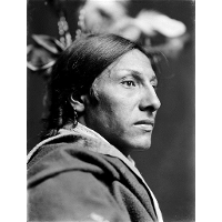 Amos Two Bulls, Dakota Sioux Indian