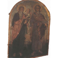 Icon of Apostles Peter and Matthew