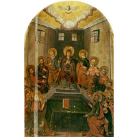 Icon The Descent of the Holy Spirit