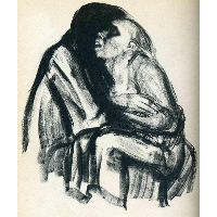 Death with Girl in Her Lap