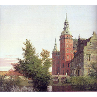 Frederiksborg Castle Seen from the Northwest