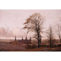 Autumn Landscape, Frederiksborg Castle in the Middle Distance
