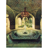 The spring hall of Golestan Palace