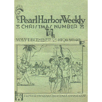 Manookian's cover for 'Pearl Harbor Weekly', December 1926