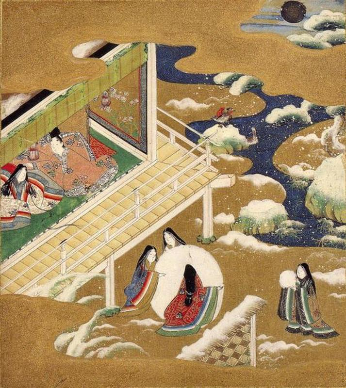 an analysis of the topic of the heian court