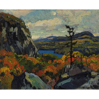 Early Autumn, Montreal River, Algoma