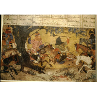 Ardashir fights Bahman