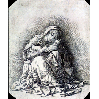 Virgin and Child (Madonna of Humility)