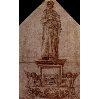 Project for a monument to Virgil