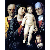 Virgin and Child with St. John the Baptist, St. Zachary and St. Elizabeth