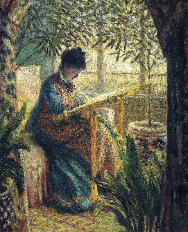 Вышивки по картинам импрессионистов